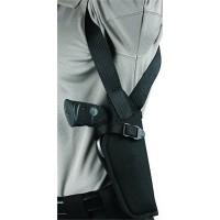 Blackhawk 40VH01BKR Vertical Shoulder Holster 40VH01BKR Adjustable Black Cordura