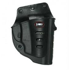 Fobus RU101BH Evolution Belt  Ruger LCR Plastic Black