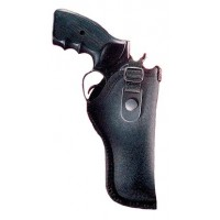 "Gunmate 21028 Hip Holster 21028 Fits Belt Width up to 2"" Size 28 Black Synthetic"