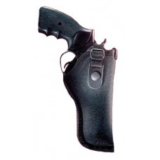 "Gunmate 21034 Hip Holster 21034 Fits Belt Width up to 2"" Size 34 Black Synthetic"