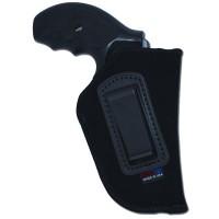 Grovtec US Inc GTHL14160R Inside-the-Pants Holster RH 60 Black Lammy Suede