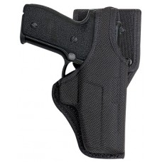 "Bianchi 18526 Belt Holster LH Fits Belt to 2.25"" Black Canvas"