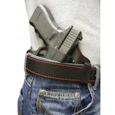 Flashbang 9410G4210 Capone RH Glock 42 RH Leather/Thermoplastic Black