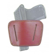 Homeland HL036BRN Belt Slide Holster Pistol Small/Medium Brown Leather