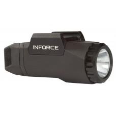 Inforce AG-05-1 APL Gen3 White 400 Lumens LED CR123A Lithium (1) For Glock Polymer Black