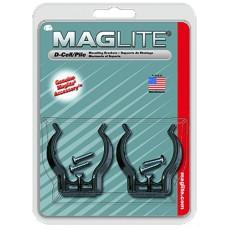 Maglite ASXD026 D-Cell Flashlight Mount Black