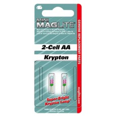 Maglite LM2A001 Mini Maglite Replacement Lamp AA 15.2 Lumens Clear