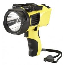 Streamlight 44900 WayPoint LED Spotlight 20/210 Lumens C Alk (4)/12V DC Yellow