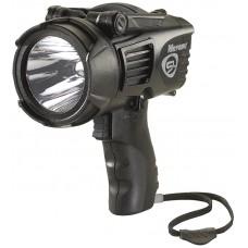 Streamlight 44902 WayPoint LED Spotlight 20/210 Lumens C Alk (4)/12V DC Black