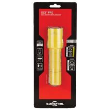Surefire G2XDYL G2X Pro 15/320 Lumens CR123A Lithium (2) Yellow