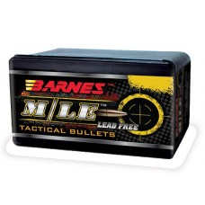 Barnes 30695 Tactical 50BMG 50 Caliber .510 647 GR TAC-X Boat Tail 20 Box