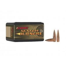 Barnes Bullets 30164 Rifle 22 Caliber .224 85 GR Match Burners Boat Tail 100 Box