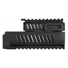 Mako AK-L/U AK-47/74 Rail System Handguard Set Polymer Black