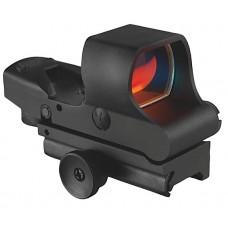 Aimshot HGM2 Reflex Sight Multi Reticle 1x 34mm Obj Unlimited Eye Relief 5 MOA Black Matte