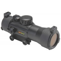 Truglo TG8030B2 Traditional Red Dot 2x 42mm Obj Unlimited Eye Relief 2.5 MOA Black