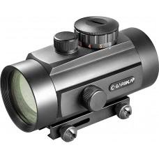 Barska AC10650 Red Dot 1x 40mm Obj Unlimited Eye Relief 5 MOA Black Matte
