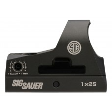 Sig Sauer Electro-Optics SOR31002 Romeo3 1x 25mm Obj Unlimited Eye Relief 3 MOA Graphite