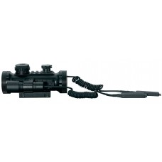 BSA STSRGBD30LL Tactical Laser/Lite 1x 30mm Obj Unlimited Eye Relief Black Matte