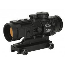 "Burris 300208 AR-332 3x 32mm Obj 2.5"" Eye Relief Ballistic CQ 4 MOA Black Matte"