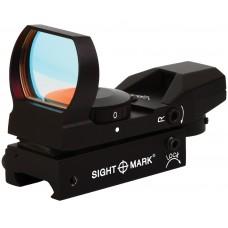 Sightmark SM13003B Sure Shot 1x 33x24mm Obj Unlimited Eye Relief 5 MOA Black Matte