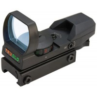 Truglo TG8360B Multi-Reticle 1x 34mm Obj Unlimited Eye Relief Multi-Reticle Black