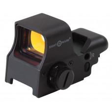 Sightmark SM13005 Ultra Shot 1x 33x24mm Obj Unlimited Eye Relief 5 MOA Black Matte