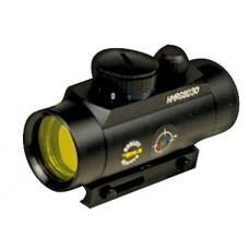 BSA HMRGBD30CP Huntsman 1x 30mm Obj Unlimited Eye Relief 5 MOA Black