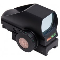 Truglo TG8380BN Tru-Brite 1x 34mm Obj Unlimited Eye Relief Multi-Reticle Black