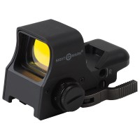 Sightmark SM14002 Ultra Shot Pro Spec NV QD 1x 33x24mm Obj Unlimited Eye Relief 5 MOA Black Matte