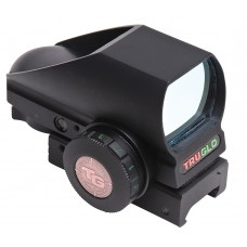 Truglo TG8380B4 Crossbow 1x 34mm Obj Unlimited Eye Relief Multi-Reticle Black