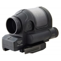 "Trijicon 900001 SRS02 Sealed Reflex Sight Quick Release Mount 1x 38mm Obj 4"" Eye Relief 1.75 MOA Black"