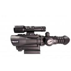 """BSA TW30RDLL Tactical 1x 30mm Obj 2"""" Eye Relief Black"""
