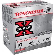 "Winchester Ammo XBP10 Super-X Black Powder Blank 10 Gauge 3"" 25 Bx/ 10 Cs"