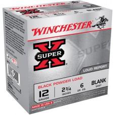 "Winchester Ammo XBP12 Super-X Black Powder Blank 12 Gauge 3"" 25 Bx/ 10 Cs"