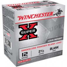"Winchester Ammo XP12 Super-X Smokeless Blank 12 Gauge 2.75"" 25 Bx/ 10 Cs"