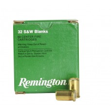Remington Ammunition R32BLNK Centerfire Blank 32 Smith & Wesson 50Box/10Cs