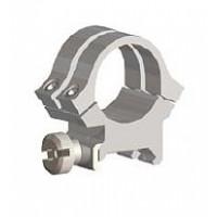 """Weaver Mounts 49057 Quad-Lock Rings Quad Lock Extra High 1"""" Diameter Silver"""