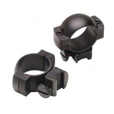 "Simmons 49167 Weaver Ring Set 1"" Dia Medium Black Gloss"