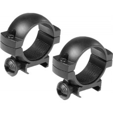 "Barska AI10334 Weaver Ring Set 1"" Dia Low Aluminum Black Matte"