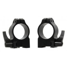 Warne 15TLM Quick Release Tikka High 30mm Diameter Matte Black