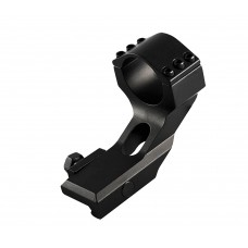 "Aim Sports QW30WM Heavy Duty 30mm Rings w/1"" Insert Cantilver Mnt 1.7""H Alum Blk"