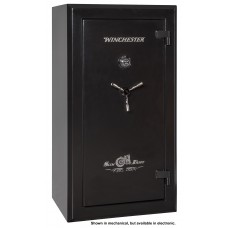 "Winchester Safes SD5932277E Slim Daddy Gun Safe 59"" H x 32"" W x 25"" D (Exterior) Electronic Lock Black"