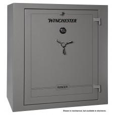 "Winchester Safes R59555410E Ranger 54 Gun Safe 59"" H x 55"" W x 29"" D (Exterior) Electronic Lock Gunmetal Gray"