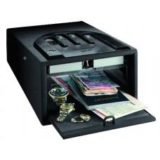 Gunvault GVB1000 Micro Vault Security Safe 5.25x8.25x12 Black