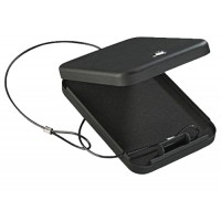 Stack-On PC95K Key Lock Portable Security Case 6.5 x 9.5 x 1.75 Black