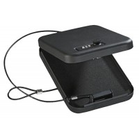 """Stack-On PC95C Combination Lock Portable Security Case 6.5"""" x 9.5"""" x 1.75"""" Black"""