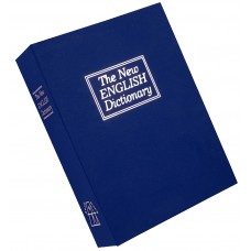 "Bulldog BD1180 Deluxe Diversion Book Safe 7.75"" W x 10.5"" H x 2.75"" D (Exterior) Blue"