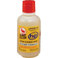 Wildlife Research 585 Scent Killer Autumn Formula Liquid Clothing Wash All 16 oz