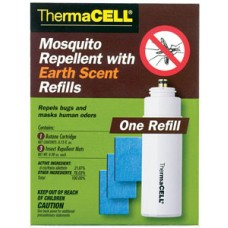 Thermacell E1 Therrmascent Refill Mat and Butane Mosquito, Black Fly, No-See-Ums