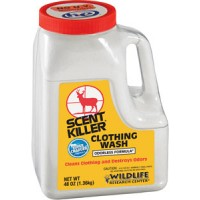 Wildlife Research 54544 Scent Powder Clothing Wash Eliminates Odors 44oz